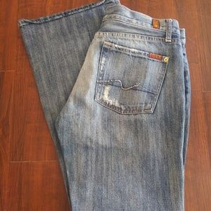 7 For All Mankind Jeans Flare Size 31